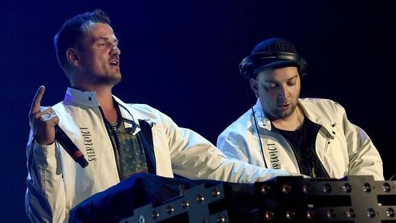 Stereoact live beim NDR 2 Soundcheck Neue Musik Festival 2017 in der Lokhalle. Göttingen