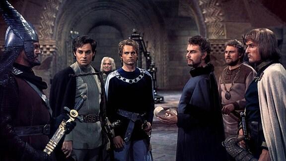 Szene aus DIE NIBELUNGEN, TEIL 1: SIEGFRIED mit Terence Hill