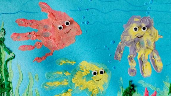 Sandmannbild von Anna-Sophie (3) aus Utting