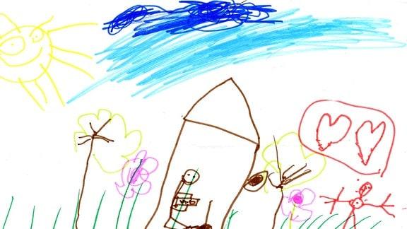 Sandmannbild von Oskar (5)