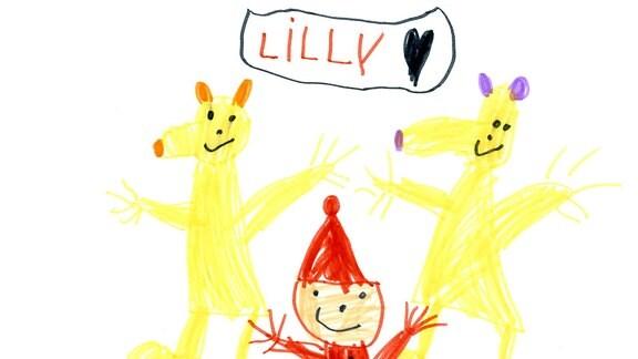 Sandmannbild von Lilly (5)
