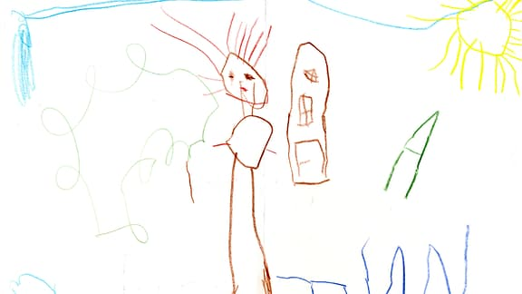 Zeichnung von Finn