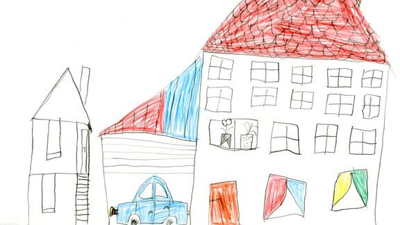 Kinderzeichnung von Mira (6) aus Klipphausen
