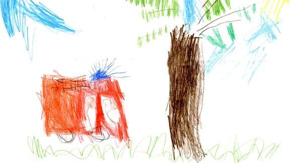 Kinderzeichnung von Tarje (4) aus Flensburg