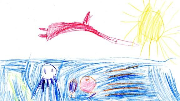 Kinderzeichnung von Natalie (5) aus Schwepnitz