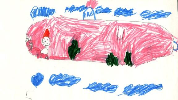Kinderzeichnung von Maisie (5)