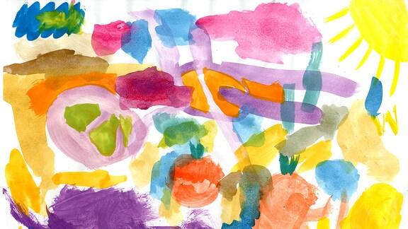Kinderzeichnung von  Luana Arisdorf