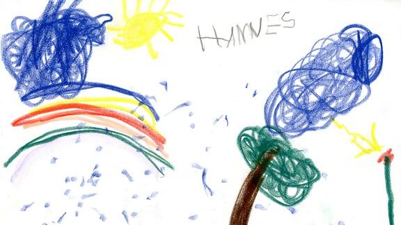Kinderzeichnung von Hannes (4)