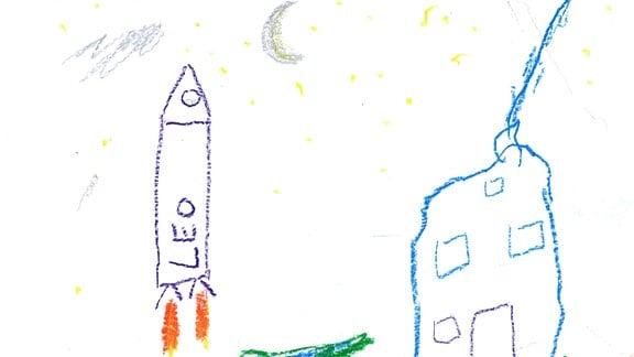 Kinderzeichnung von Leo (4)