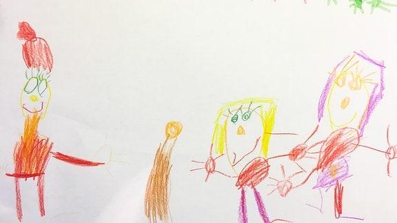 Kinderzeichnung von Sarah (5)