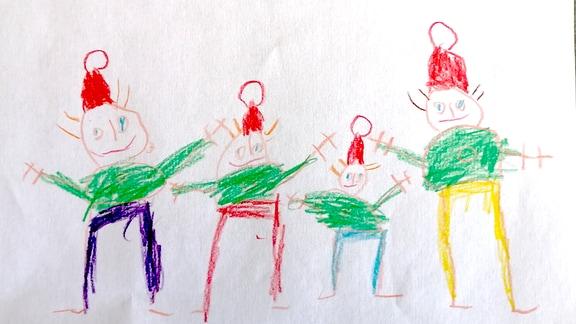 Kinderzeichnung von Max (5)