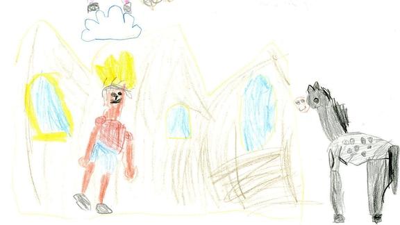 Kinderzeichnung von Felice (4)