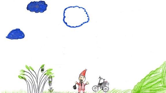 Kinderzeichnung von Paul (6) aus Hirschstein