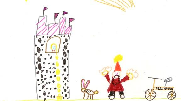 Kinderzeichnung von Emma (7) aus Friedrichroda