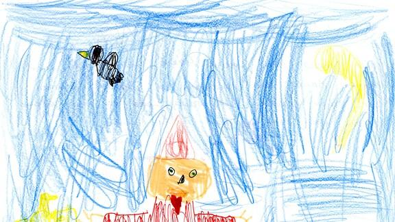 10.08. | Eine Kinderzeichnung von Lukas & Jonas aus Markranstädt
