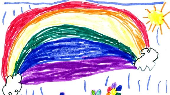 11.08. | Eine Kinderzeichnung von Letizia (6) aus Eching