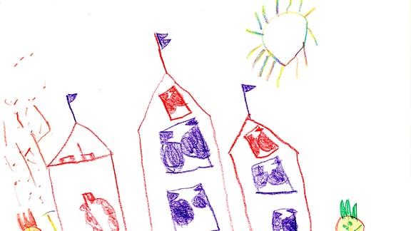 Kinderzeichnung von Hanna (5) aus Dresden