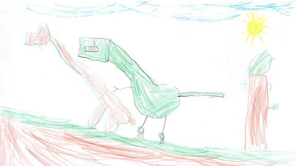 Kinderzeichnung von Rocco (6) aus Grimma