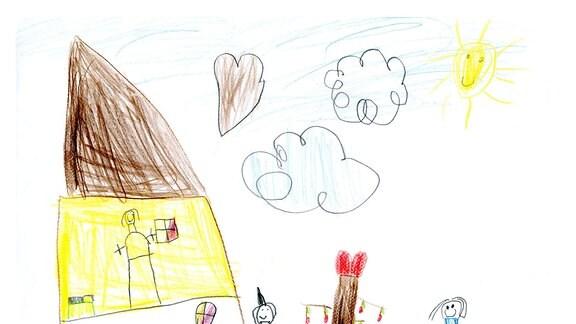 Kinderzeichnung von Jessica (5) aus Kisdorf