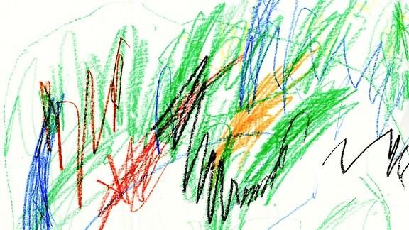 Kinderzeichnung von Raphael (3) aus Niedergräfenhain