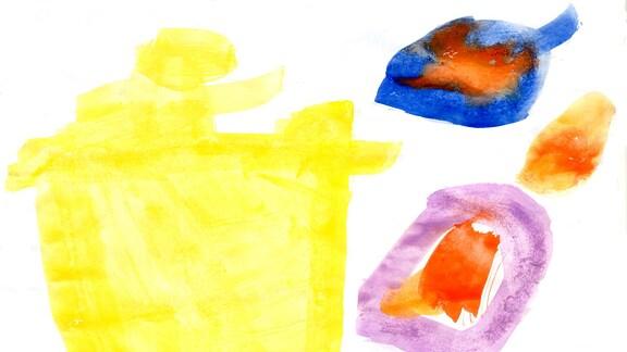 Kinderzeichnung von Theo (4) aus Immenrode