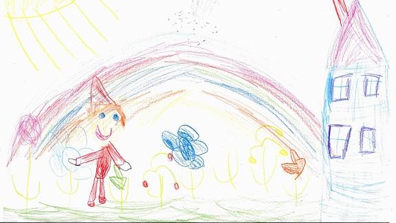 Kinderzeichnung von Philomena (4)