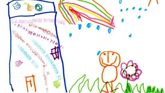 Kinderzeichnung von Cosima aus Jena