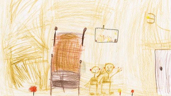 Kinderzeichnung von Adina aus Görwihl