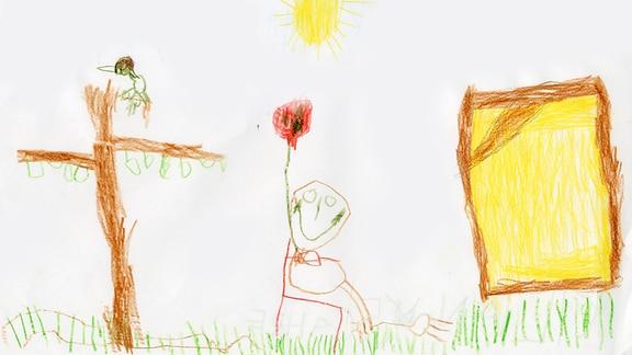 19.07. | Kinderzeichnung von Kilian (5) aus Landsberg am Lech