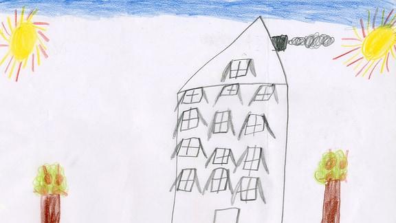 21.07. | Kinderzeichnung von Lotta (6) aus Lutherstadt Eisleben