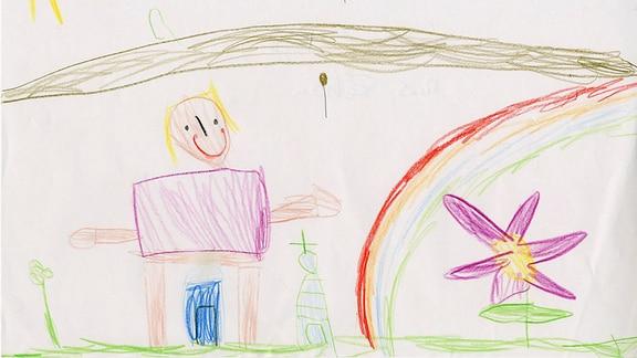 22.07. | Kinderzeichnung von Lotte (4) aus Rehau