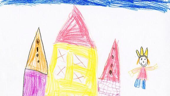 23.07. | Kinderzeichnung von Frieda (6) aus Groß-Gerau