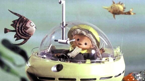 Das Sandmännchen im U-Boot