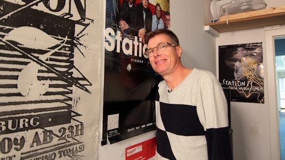 """Martin Fromme zu Besuch bei """"Station 17"""""""