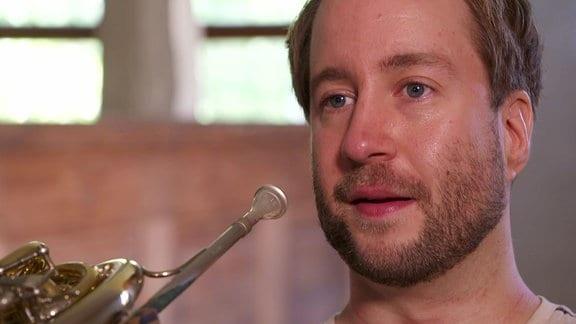 Der Hornist Felix Klieser