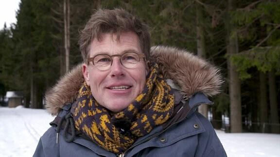 Martin Fromme unterwegs in Oberhof