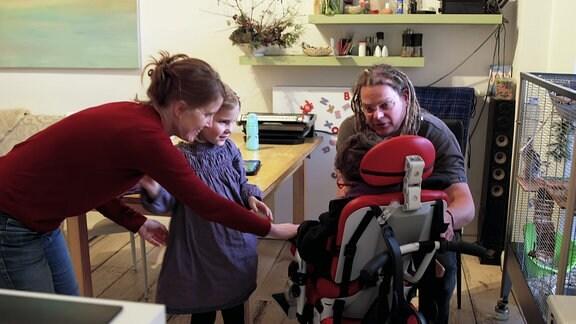 Impressionen von Familien in besonderen Lebensverhältnissen