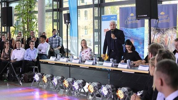 Das Casting der Debütanten am 18.10.2019 in Leipzig