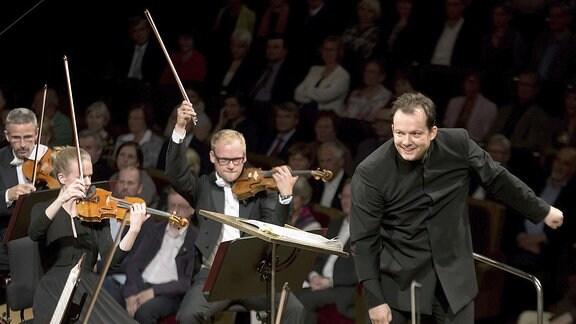 Andris Nelsons und das Gewandhausorchester zu Leipzig