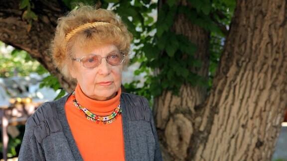 Lyudmila Kocherzhyna wurde als Siebenjährige mit ihrer Tante nach Deutschland verschleppt.