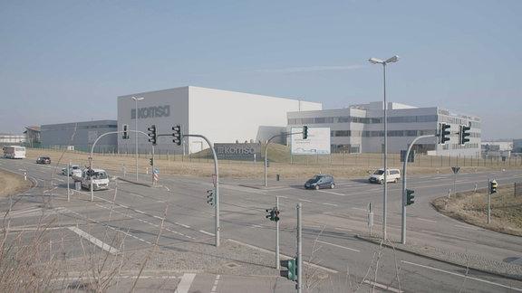 Das Unternehmen Komsa in Hartmannsdorf in Sachsen.