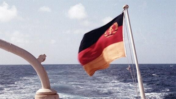 Die DDR unterweg auf den Weltmeeren.