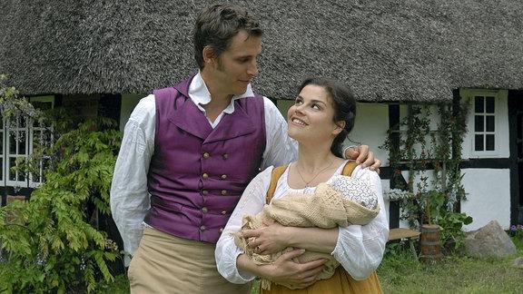 Der Meisterdieb (Max von Thun, mit Katharina Wackernagel) ist heimgekehrt und inzwischen Vater geworden.