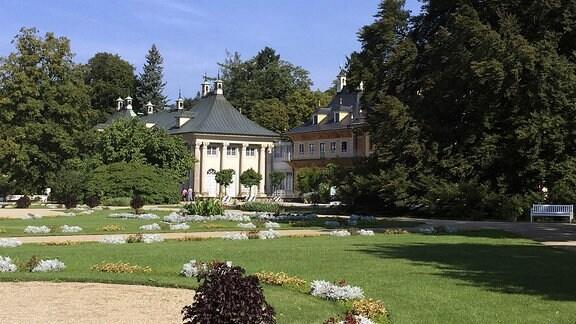 Schloss und Park Pillnitz