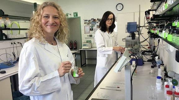 Im Labor von Charlotte Meentzen