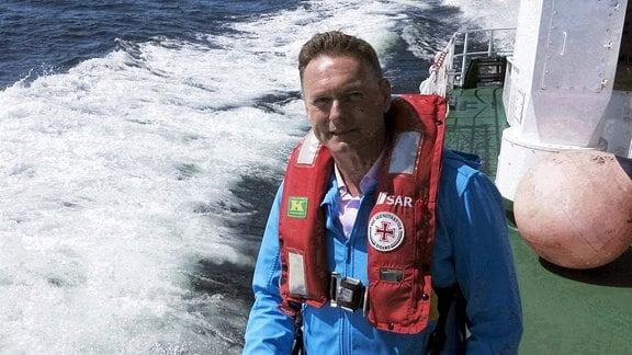 Axel Bulthaupt auf Seenotretter