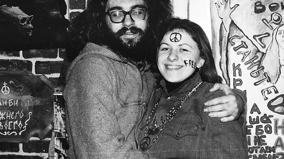 Hippie-Paar