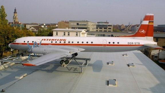 Interflug-Passagiermaschine