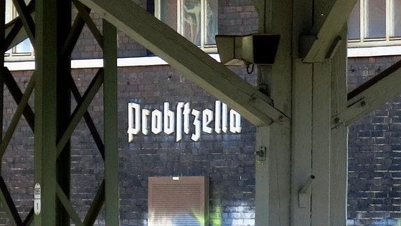 Bahnhof Probstzella.