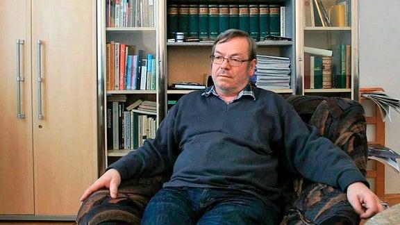 Dietbert Gütter, Student und wissenschaftlicher Mitarbeiter der TU Dresden.